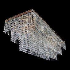 Люстра Капель Прямоугольник Пирамида