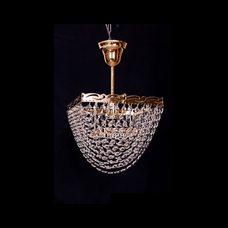 Люстра Квадрат 1 лампа Ракушка